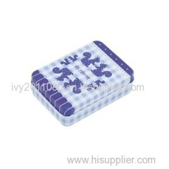 Tin Poker Box Product Product Product