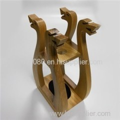 Wine Bottle Wooden Holder