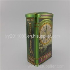 Tall Rectangle Tin Box