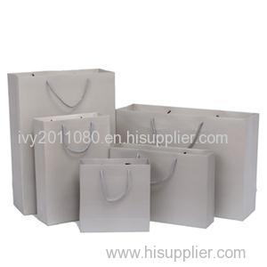 Paper Shopping Bags With Rope Handle