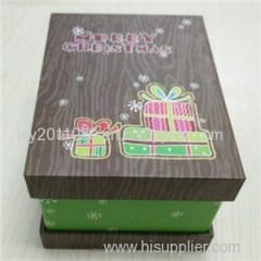 Christmas Gift Paper Packaging Box