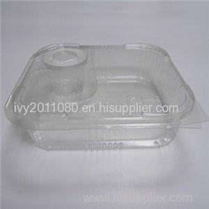 Clear Fast Food Box