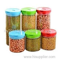 Grain Storage Glass Jars