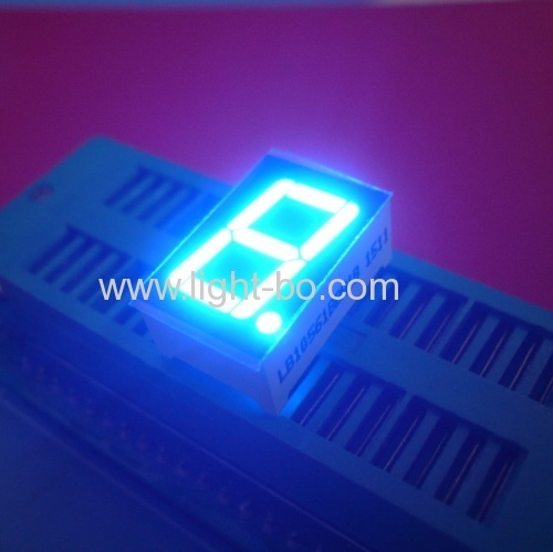 Ultra blue 0.56  single digit 7 segment led display for instrument panel