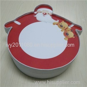 Santa Claus Paper Present Box