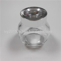 Tin Screw Cap Glass Mini Jars