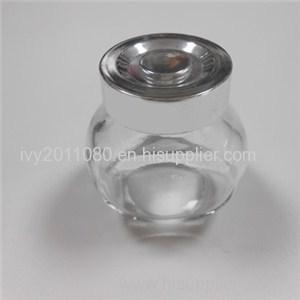 Tin Screw Cap Glass Mini Jars