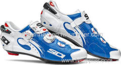 Sidi Wire Push Shoes - Men's Blue-White 44.5