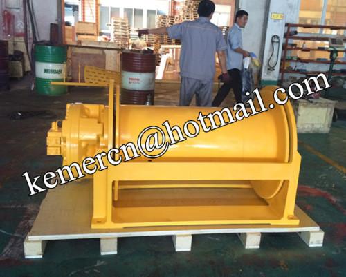 12 ton free fall hydraulic winch
