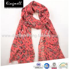 2015 High quality custom designed digital printing fashion silk scarves