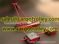 Transport dollies skates applications