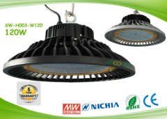 120w UFO LED Industrial Lighting 130lm / W