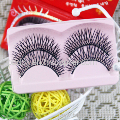 Real mink fur flare eyelash