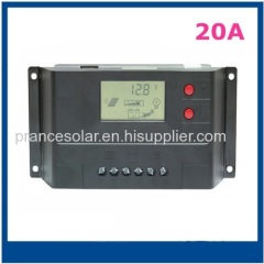 Solar controller with 5V USB Charger and DC output socket