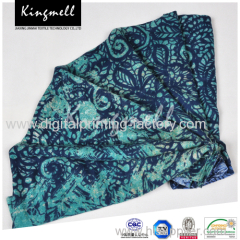 2015Women's New Long Section Of Personalized Printing Twill Designer Cotton Scarf