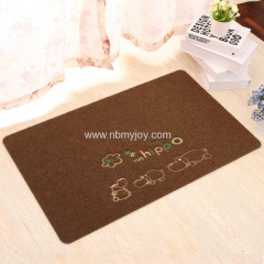 Polyester Embroidered personalised door mats