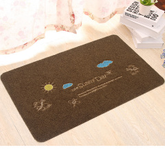 Polyester Embroidered personalised door mat