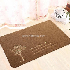 Polyester Embossing Mat With Machine Embroidery YH2015002P25