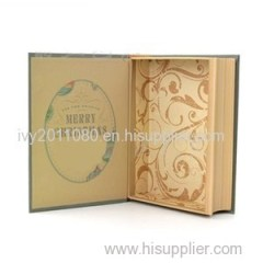 Book Shaped Paper Storage Box