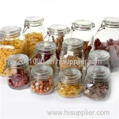 Clip Lid Glass Jars
