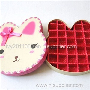 Rabbit Shape Chocolate Box