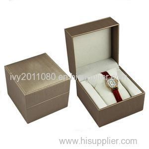 PU Leather Watch Storage Box