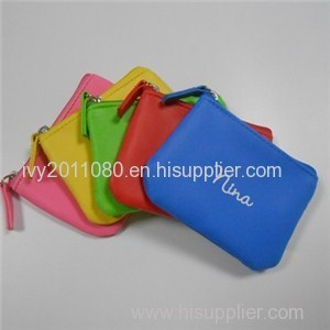 Zipper Nylon Coin Purse