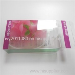 Perfume PVC Packaging Box