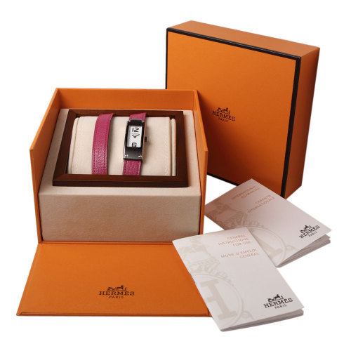 High-end watch gift box with paper or leather cover