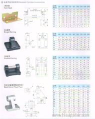 SI cylinders standard cylinder accessories