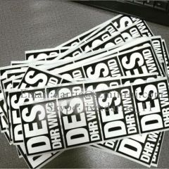 China Top Destructible self adhesive vinyl producer supply customized destructible vinyl Eggshell sticker for graffiti