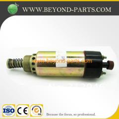 excavator engine stop solenoid caterpillar CAT 325 shut off valve 155-4652