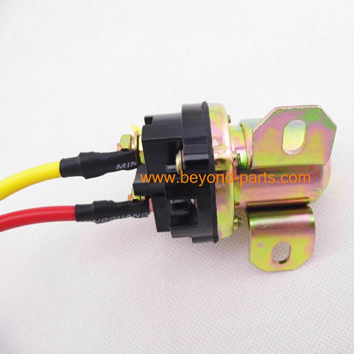 Engine start relay excavator electric motor start relay for Electric motor parts suppliers