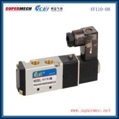 4V110-06 24V solenoid air valve AIRTAC model