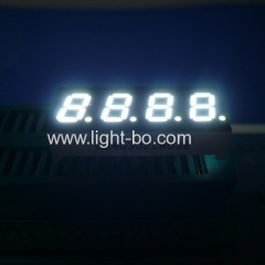 4 digit 0.3inch white led display; white 4 digit 0.3inch 7 segment