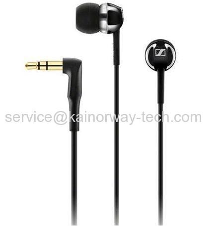 Sennheiser CX1.00 Black In-Ear Canal Dynamic Headphones with Powerful Sound