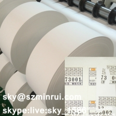 ultra destructible adhesive paper/destructible adhesive paper/security label material