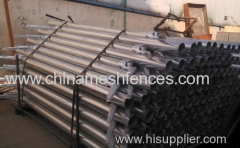 Galvanized Line Post For Chain Link Fence