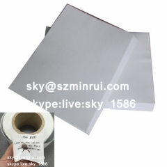 destructive paper material/security label material/tamper evident material