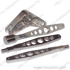 Aluminum machined automotive component