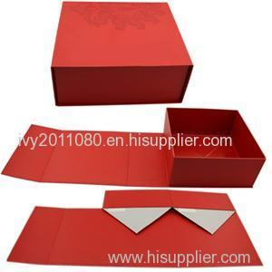 Foldable Paper Packaging Box