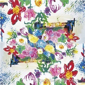 Custom Digital Print Silk Scarf Supplier China