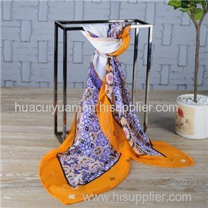 Custom Make Silk Shawl Manufacturer China