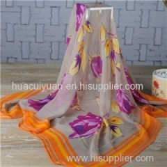 2014 Fashion Silk Lady Shawl Scarves