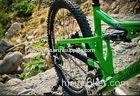 Customized Carbon MTB Rims 26 Inch Bike Rims With 24 / 28 Spokes