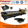 low price cnc v-cutting machine v notch cutting machine 1300x4000mm v groove cutting machine