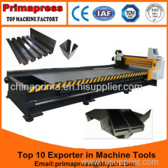 Sheet Metal cnc V Groover Machine