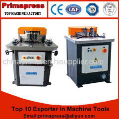 hydraulic corner notcher machine