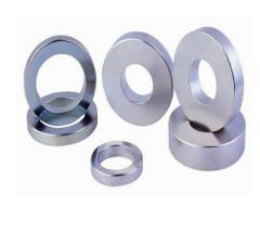 Chromium Plating Permanent Neodymium Magnet Ring