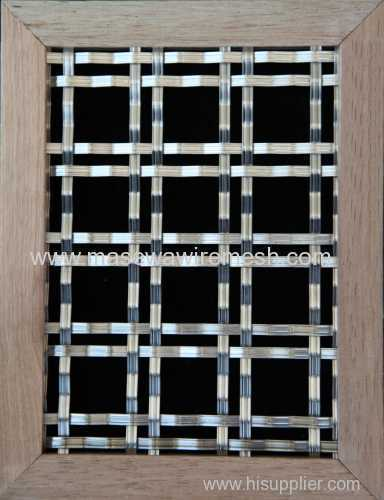 stainless steel crimped woven mesh partition mesh screen